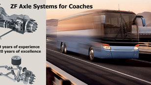 Axles systems for Buses